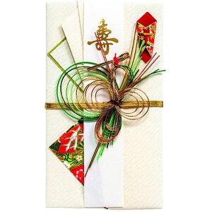 【ネコポス対応〇】マルアイ [ご結婚祝い ご祝儀袋] 祝金封 新檀紙 銀鶴【キ-488】