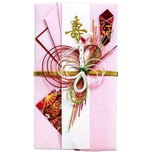 【ネコポス対応〇】マルアイ [ご結婚祝い ご祝儀袋] 祝金封 新檀紙 白鶴【キ-490】