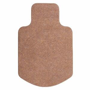 【サンワサプライ】OAチェア用マットSNC-MAT1BR ブラウン 床に傷がつくのを防ぐカーペット仕様の室内用チェアマット 【TD】※※