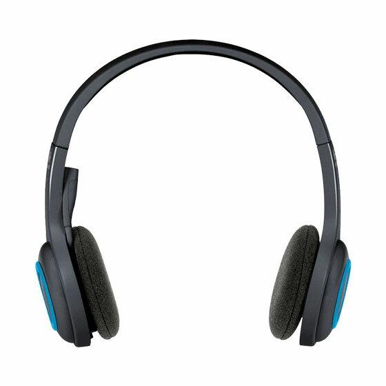 ワイヤレスヘッドセット ブラック H600送料無料 ヘッドセット マイク ワイヤレス スカイプ テレビ電話 パソコン ロジクール 【D】