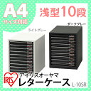 レターケース L-10SR【収納ボックス 書類ケース 引き出し 収納ケース プラスチック 書類 棚 A4 収納 収納ボックス 小…