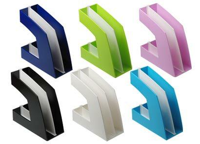 [ソニック]マガジンボックス(ファイルボックス)A4判タテ型(収納巾100mm)本体カラー:6色【FB-708】