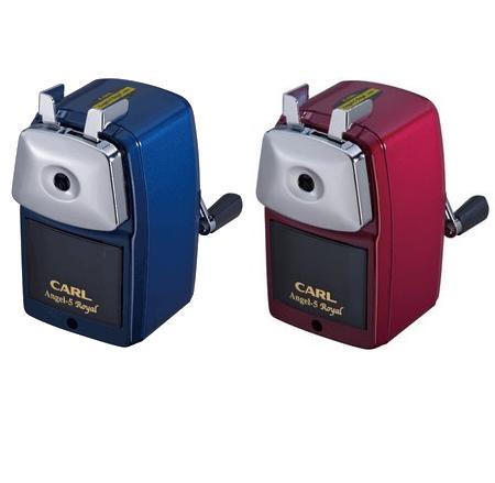 【送料無料!】[カール]鉛筆削りエンジェル5ロイヤル【A5RY】CARL2段階芯調節機能付