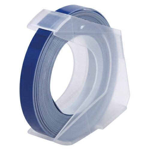 [マシューズ]ダイモ専用テープDYMO ダイモ互換用グロッシーテープ 6ミリ 青RM906BU