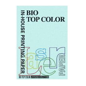 [伊東屋]バイオトップカラーA4判 BT108ミディアムブルー 100枚入 80g/m2