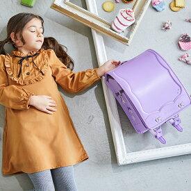 ランドセル 女の子 2021 スイートリボン クラリーノ フィットちゃん リボンの刺繍とラインストーンのランドセル デカポケ搭載   [SW]