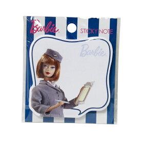 Barbie<バービー> 付箋<ふせん> キャビンアテンダント柄 4901770397672 [M便 1/1]