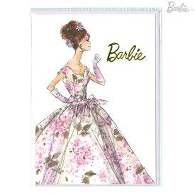 Barbie<バービー> メッセージカード Sサイズ ヴァイオレット柄 4901770420240 [M便 1/1]