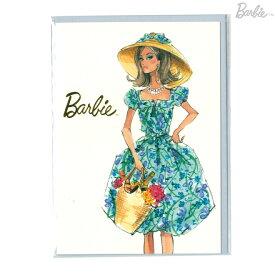 Barbie<バービー> メッセージカード Sサイズ マーケットデイ柄 4901770420264 [M便 1/1]