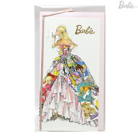 Barbie<バービー> メッセージカード Mサイズ ジェネレーション柄 4901770420288 [M便 1/1]