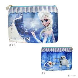 アナ雪フラットポーチM <Frozen柄> DN57687 【disneyzone】 [M便 1/1]