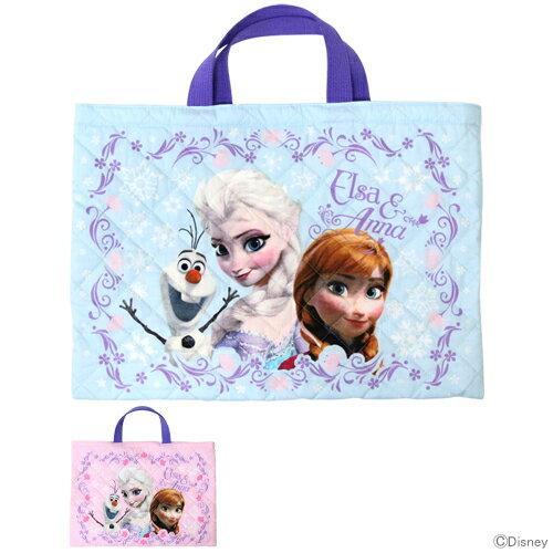 【大特価半額以下】アナと雪の女王 キルトレッスンバッグ<おけいこバッグ> 2カラー D1090-art【disney