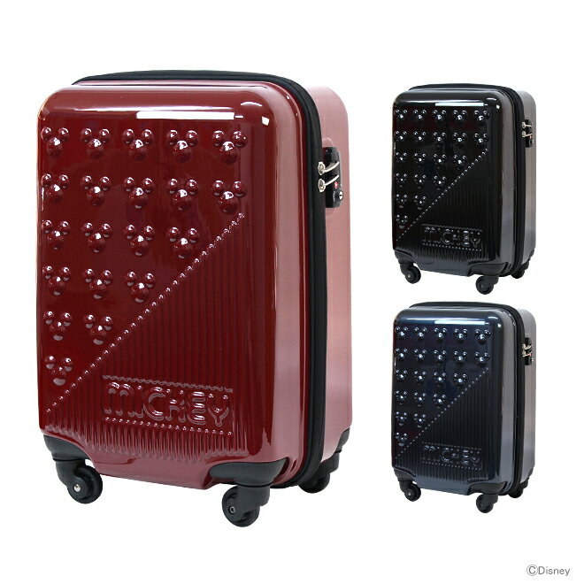 【送料無料】ミッキーマウス キャリーケース<スーツケース> 32L 3カラー d2009-art 【disneyzone】[jitsu170718g]
