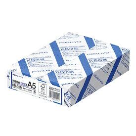 コクヨ PPC用紙 コピー用紙 A5サイズ 500枚 KB-30N  [メーカー取り寄せ]