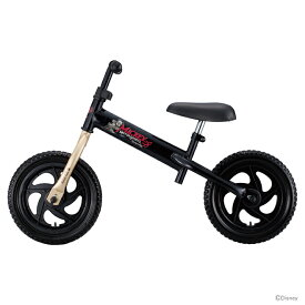 【ラッピング不可・同梱不可】アイデス<ides> ミッキーマウス キッズライダー<自転車・ファーストサイクル> ブラック 00272 【disneyzone】