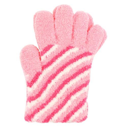 子ども用手袋 Comfortably Warm Gloves<ぬくぬくとした手袋> <5本指タイプ> ピンク 45650