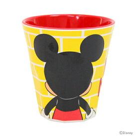 ミッキーマウス メラミンカップ<コップ> 270ml うしろむき柄 MTB2 【disneyzone】