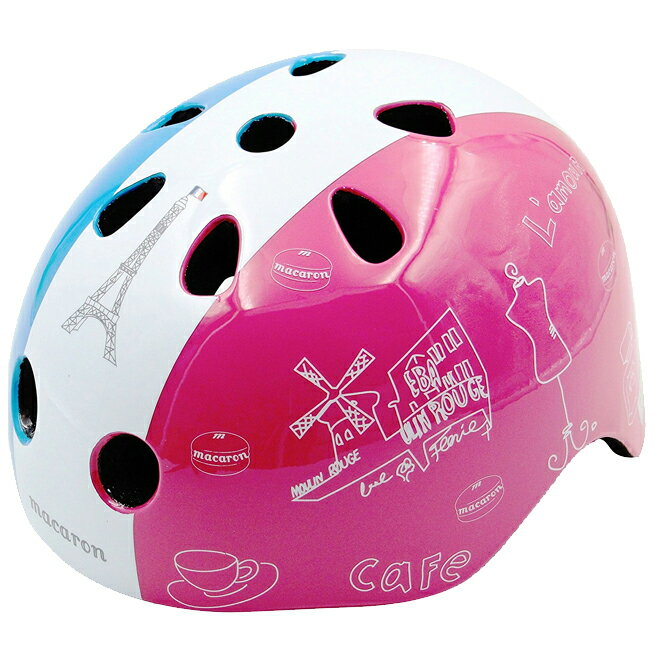 ヘルメット Macaron<マカロン> France柄 <子供用> JP8072