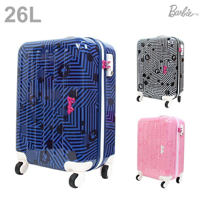 【送料無料】Barbie<バービー> キャリーバッグ<スーツケース> アメリアTR 26L 3カラー 6096-ace