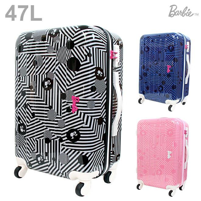 【送料無料】Barbie<バービー> キャリーバッグ<スーツケース> アメリアTR 47L 3カラー 6097-ace