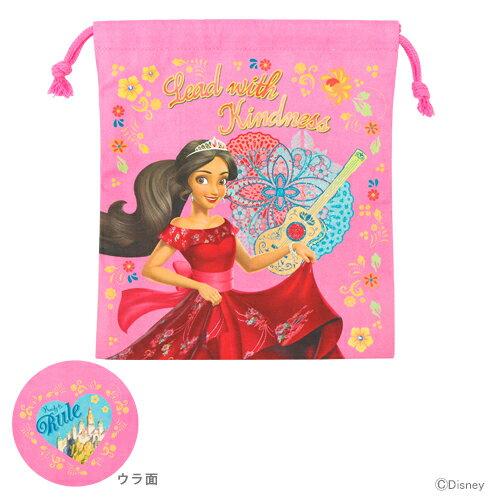 アバローのプリンセスエレナ 巾着袋 小 ピンク d1486pn-4 【disneyzone】