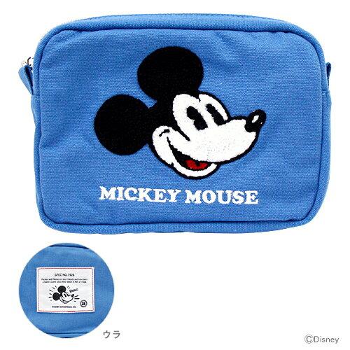 〔40%OFF〕ミッキーマウス フラットポーチ DC EC ミッキー柄 4901770483535 【disneyzone】