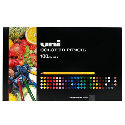 【エントリーでポイント5倍!】三菱鉛筆 uni ユニカラー100色UC100C【送料無料】