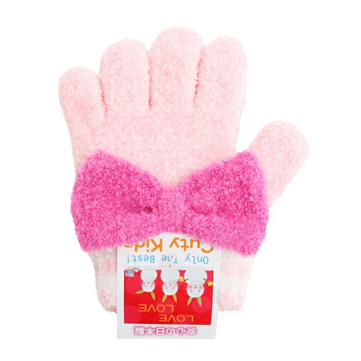 子ども用手袋 Cuty Kids <5本指タイプ> トドラーサイズ ピンク 45110