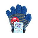 子ども用手袋 For Boys <5本指タイプ> トドラーサイズ ネイビー 45124 [M便 1/3]