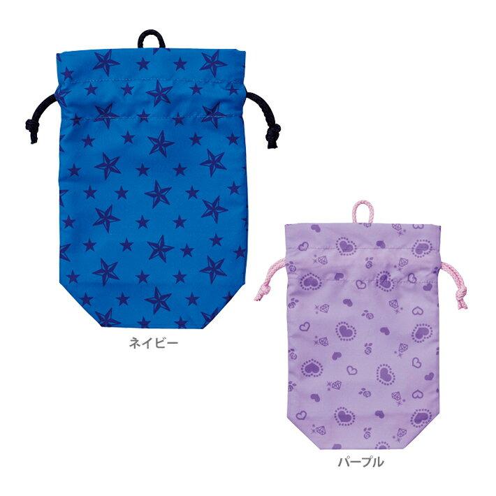 クツワ 巾着<コップ袋> 2カラー STAR LINE<スターライン> st116-ktu 新入学文具
