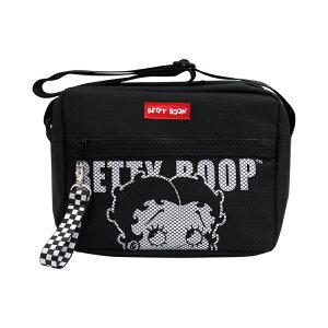 ベティ・ブープ<BETTY BOOP> miniショルダーバッグ ロゴアップ柄 51099