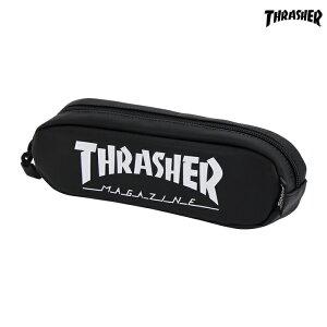 スラッシャー<THRASHER> ペンポーチ<筆箱> S ホワイト 74605101