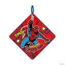 スパイダーマン<MARVEL> ループタオル スパイダーレッド柄  [No.2505009800] 【disneyzone】 [M便 1/3]