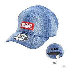 マーベル 帽子 ボックスロゴデニム柄 フリーサイズ 51005 【disneyzone】