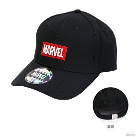 マーベル 帽子 ボックスロゴブラック柄 フリーサイズ 51006 【disneyzone】