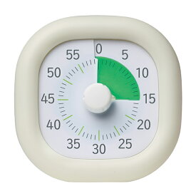 ソニック トキ・サポ 時っ感タイマー 10cm アイボリー 新入学文具 LV-3062-I