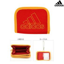 アディダス 二つ折り財布 スカーレット 5769210