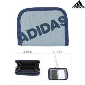 アディダス 二つ折り財布 グレー 5769309