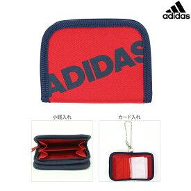 アディダス 二つ折り財布 スカーレット 5769310