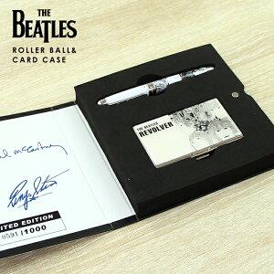 ザ・ビートルズ ACME ローラーボールペン&カードケースセット リボルバー PBEA07-SET
