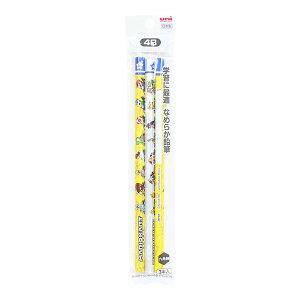 マリオカート かきかた鉛筆 4B 六角軸 3本組 4902778253885 新入学文具 [M便 1/15]