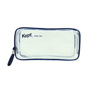 レイメイ藤井 Kept クリアペンポーチ ネイビー KPF902K