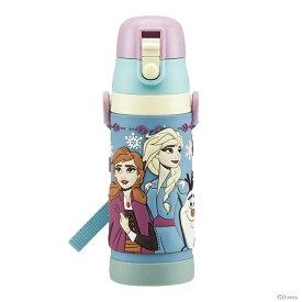 [23%OFF] ディズニー アナと雪の女王 3Dロック付きワンプッシュダイレクトボトル 480ml SDPV5 【disneyzone】