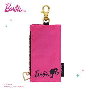 [メール便送料無料]Barbie<バービー> キーケース<鍵入れ・キーホルダー・ランドセルキーケース>ピンク シブヤオリジナル SB-MK001  [M便 1/3]