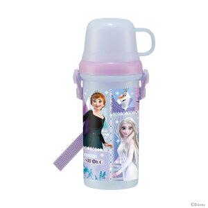 ディズニー アナと雪の女王 直飲み・コップ付きプラスチック水筒 PSB5KD 2021 [disneyzone]