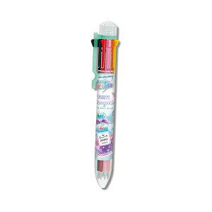 8色ボールペン FRUITY MAGIC柄 71501 [M便 1/10]