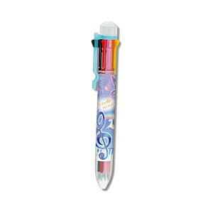 8色ボールペン TWINKLE MUSIC柄 71502 [M便 1/10]