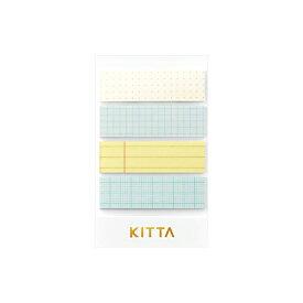 キングジム ヒトトキ キッタ ベーシック 15mm幅 ノート柄 KIT052 [M便 1/1]