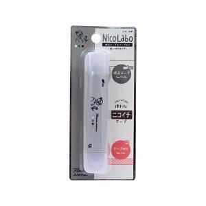ニコ・ラボ 修正テープ&テープのり NUANCE LINE柄 101922[M便 1/1]