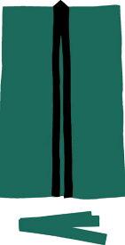 アーテック サテンロングハッピS <はちまき付き> 緑 1143